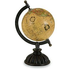 Why do globes like this have to be so expensive? I want this!  Argento Antique Settlers Desk Globe