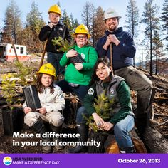 There are 10 more weeks until Make A Difference Day, how will you make a difference?