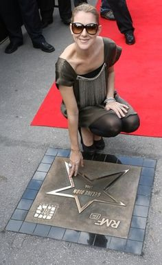CELINE and her GOLD STAR