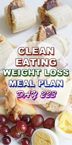 clean eating meal plan day 223