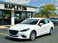 New 2014 Mazda Mazda3 i Sport, White.