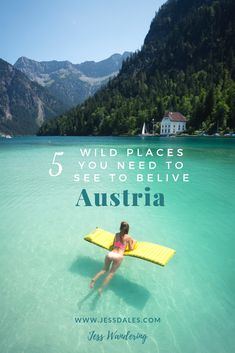 You wont believe these beautiful places in Austria until you see them with your own eyes! Five of the most beautiful places in Austria you need to see to believe! Cool Places To Visit, Places To Travel, Travel Destinations, Travel Diys, Travel Items, Travel Info, Trekking, Yosemite Camping, Austria Travel