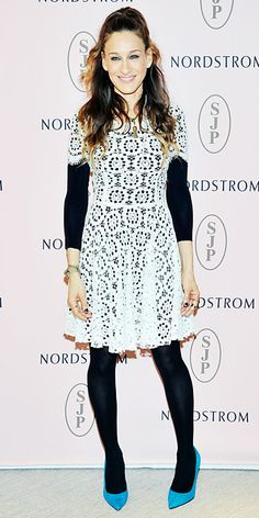 Look of the Day - March 7, 2014 - Sarah Jessica Parker in Dolce & Gabbana