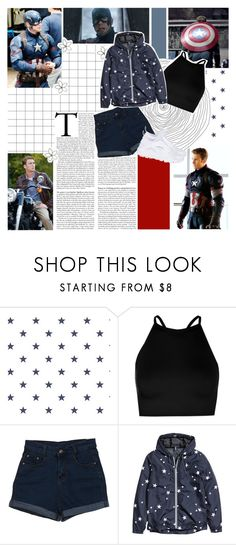 """✯✯//To be young and in love in New York City. Do not know who I am but still know I'm good long as you're here with me."" by xo-nataliiee-xo ❤ liked on Polyvore featuring Boohoo, WALL, H&M and NIKE"