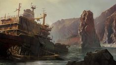 Shipwreck by DarioCoelho