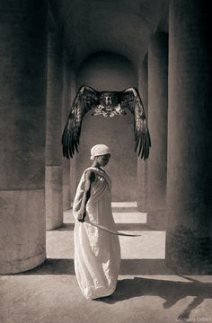 "gregorycolbert: ""Feather to fire, fire to blood —Gregory Colbert """