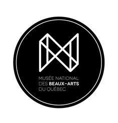 Projet fictif / Musée national des beaux-arts du Québec logo. Musuem logo