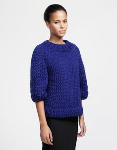 Ashleigh Sweater - Wool and the Gang. Love To Shop, Diy Crochet, Mittens, Crochet Patterns, Sweaters For Women, Turtle Neck, Pullover, Wool, Knitting