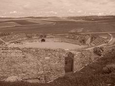 Anfiteatro , desde la parte mas alta de Segóbriga