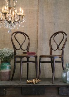Thonet Cafe Chairs.