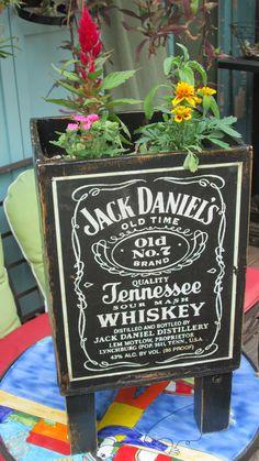 Jack Daniel's Planter