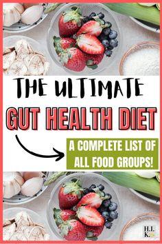 Gut Health Foods, Health Recipes, Health Eating, Health Diet, Gut Healing Diet, Muscle Diet, Dairy Free, Gluten Free, Improve Gut Health
