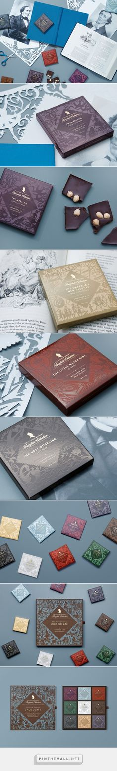 The Fairytale Collection chocolate packaging design by Bessermachen-Designstudio A/S - http://www.packagingoftheworld.com/2017/01/the-fairytale-collection.html
