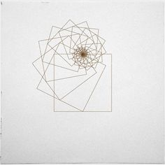 geometrydaily:    #338 Square attractor – A new minimal geometric composition each day