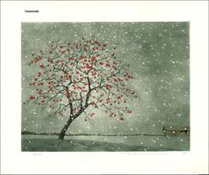 "Tanaka Ryohei ""Persimmon in Snow"""