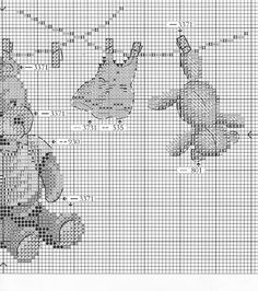 Teddy and Rabbit wash day 3 Just Cross Stitch, Cross Stitch Needles, Cross Stitch Baby, Cross Stitch Samplers, Cross Stitch Animals, Modern Cross Stitch, Cross Stitch Charts, Cross Stitch Designs, Cross Stitching