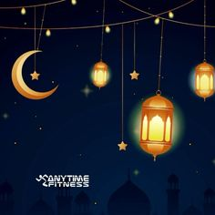 May the light of the moon fall directly on you and Allah bless you with everything you desire today. Navratri Wishes, Happy Eid, Anytime Fitness, Eid Mubarak, Allah, Blessed, Gifs, Moon, Ceiling Lights