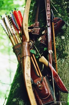 Jackill bow and side-quiver. Just like the overall look. Obviously not in-expensive:)