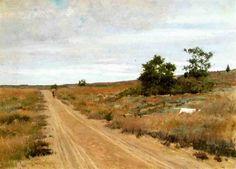 Hunting Game in Shinnecock Hills - William Merritt Chase