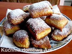 Kuchnia domowa Ani: Sodziaki French Toast, Eat, Cooking, Breakfast, Recipes, Food, Bathroom, Backen, Cuisine