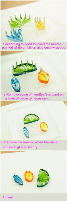Handmade paper Quilling tools Creations Wrapped Tray+needle tool hollo paper rolls of paper flowers DIY machine,free shipping-in Paper Crafts from Home & Garden on Aliexpress.com | Alibaba Group
