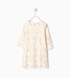 Crochet dress-Dresses and overalls-Girl (3-14 years)-KIDS | ZARA United States