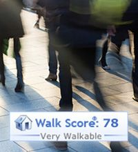 A great #Walkscore! Walk to and from everything you need at PerSei Apartments.