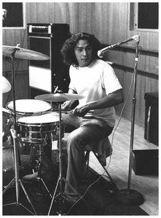 Alex Van Halen on drums