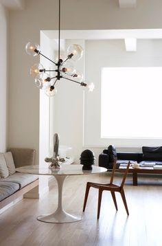 Image of: Modern Lighting Chandelier