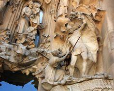 "Killing Innocents - Gaudi - Sagrada Familia Cathedral, Barcelona, Spain - Framed Photo Art Print, 11""x 14"" by Romagosa Fine Arts, http://www.amazon.com/dp/B00GOGMLXI/ref=cm_sw_r_pi_dp_A4yHsb1MBVK7J"