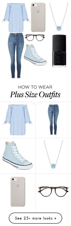 """""""Sans titre #5009"""" by merveille67120 on Polyvore featuring Manon Baptiste, Topshop, Converse, Gucci, Tacori and NARS Cosmetics"""