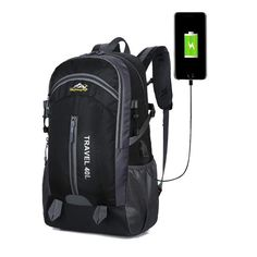 Are you looking for waterproof hiking backpack online? Look no further, buy USB charging anti-theft backpack at our store at a reasonable price. This tear resistant backpack is perfect for hiking purposes. Laptop Backpack, Travel Backpack, Backpack Online, Waterproof Hiking Backpack, Climbing Backpack, Anti Theft Backpack, Usb, Hiking Bag