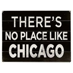 Artehouse LLC No Place like Chicago Textual Art Multi-Piece Image on Wood