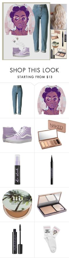 """""""Untitled #11"""" by dinkums-the-cat ❤ liked on Polyvore featuring Vans, Urban Decay and Yeah Bunny"""