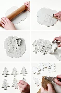 Diy christmas crafts 162833342755289476 - Diy Watercolour Clay Christmas Tree Decorations Source by sugarbeecrafts Clay Christmas Decorations, Christmas Clay, Easy Christmas Crafts, Homemade Christmas Gifts, Diy Christmas Ornaments, Christmas Projects, Christmas Trees, 242, Salt Dough