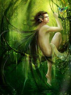 green elf male