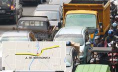 Urai Kemacetan, Pemkot Bakal Bangun Fly Over di Jalan RE Martadinata www.heibogor.com