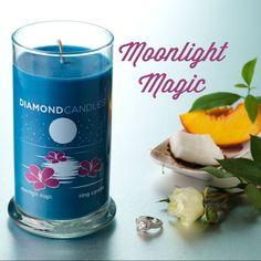 Diamond candles - great bridesmaid gift.