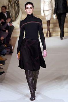 Ralph Rucci Chado Fall 2004 Couture Fashion Show - Eugenia Volodina