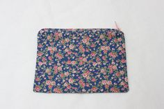 Handmade Cotton Pouch Purse with Vintage Floral by BettysBoutiques, £8.00