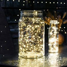 String lights 2 set of micro 30 leds super bright warm white color set of 12 amazon string lights oak leaf 2 set of micro 30 leds super bright warm white led rope lights battery operated on 98 ft long ultra thin aloadofball Image collections