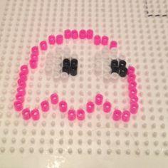 hama beads   Hama Beads Pac Man Ghost Pattern 2