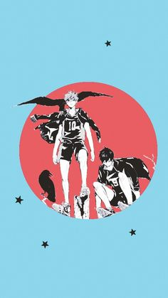 KARASUNO, Hinata and Kageyama
