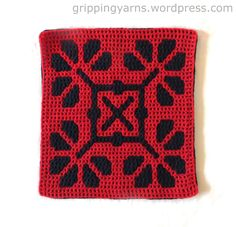 filet crochet This motif forms the front of a cover for a heat pad which, when finished, will have a back made of navy toweling fabric. As is normally the case with Double Filet Crochet/ Crochet Mandala Pattern, Granny Square Crochet Pattern, Crochet Stitches Patterns, Tapestry Crochet, Crochet Squares, Crochet Granny, Scarf Patterns, Crochet Afghans, Knitting Patterns