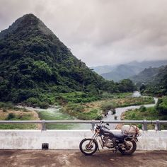 Back on the Ho Chi Minh Trail riding right along the Lao border on my way to the Phong Nha-Kẻ Bàng National Park to see its famous caves. I just couldn't get enough of the jungle scenery the lush vegetation the small streams and the bridges above them I constantly had to stop to take photos. Tell me if I started to bore you with it already!   #solotravel #SouthEastAsia #Vietnam #travelVietnam #vscoVietnam #jungle #motorbike #roadtrip #travel #traveling #travelgram #traveladdict #adventure…