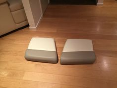 First 2 seats handmade on our new sewing machine