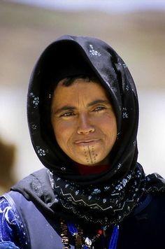 Africa | Berber woman. High Atlas, Morocco༻神*ŦƶȠ*神༺