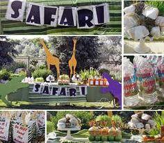Safari candy buffet
