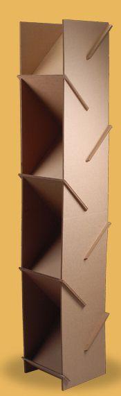 Carton muebles (for shoes? Diy Cardboard Furniture, Cardboard Design, Paper Furniture, Cardboard Display, Cardboard Crafts, Furniture Design, Cardboard Paper, Display Design, Shelving