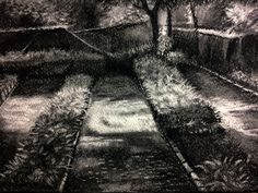 Buy Botanical Garden artwork number a famous painting by an Indian Artist Pradip Kate. Indian Art Ideas offer contemporary and modern art at reasonable price. Charcoal Paint, Indian Artist, Garden Painting, Ap Art, Mixed Media Painting, Medium Art, Botanical Gardens, Modern Art, Country Roads